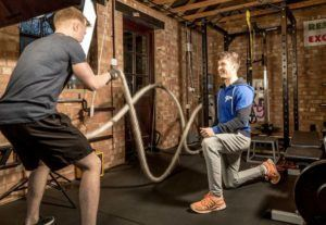 Cambridge Personal Training In Session